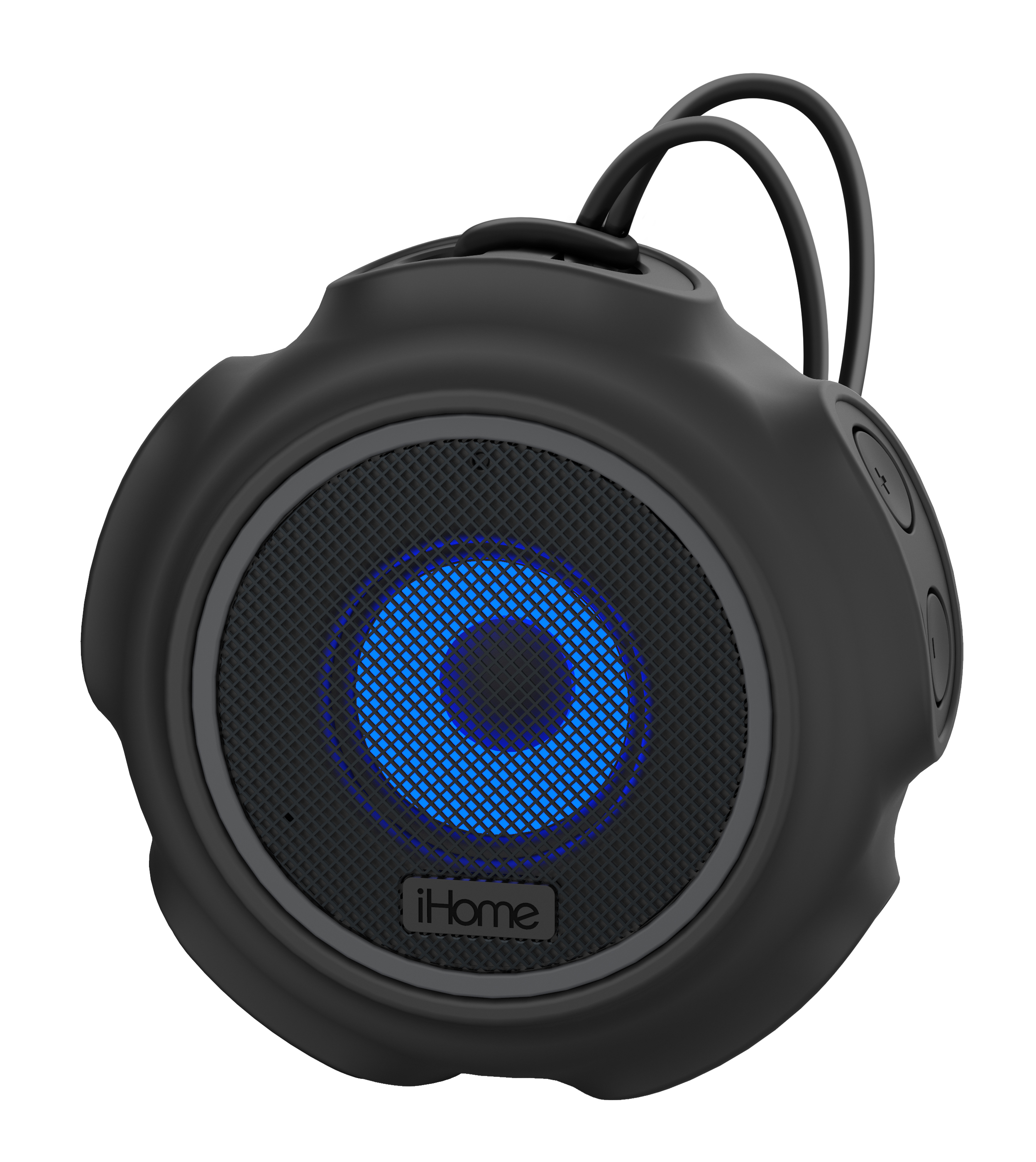 iHome iBT822 Portable Waterproof Color Changing Bluetooth Speaker