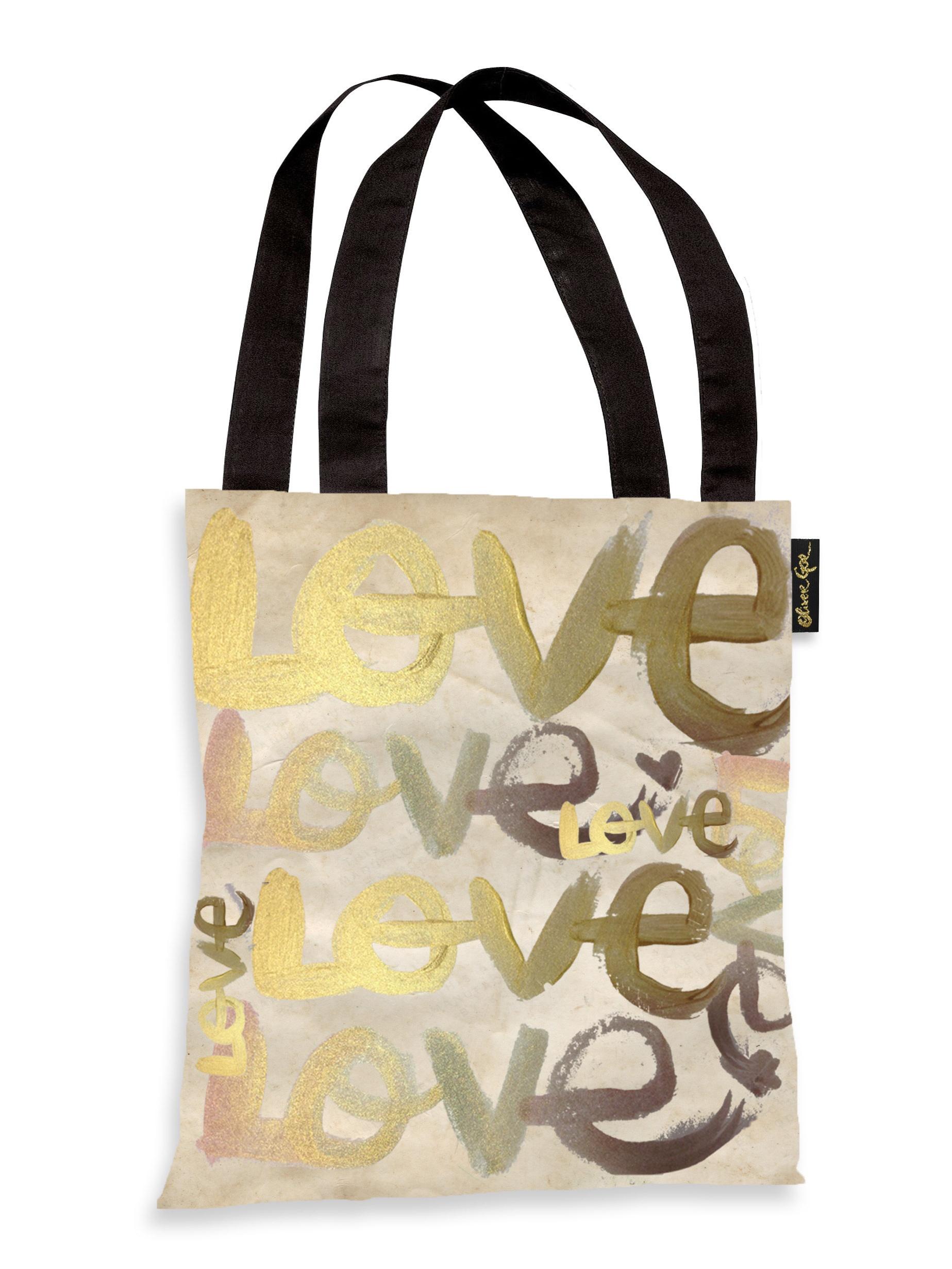 Oliver Gal Artist Co.  'Four Letter Word' Tote Bag