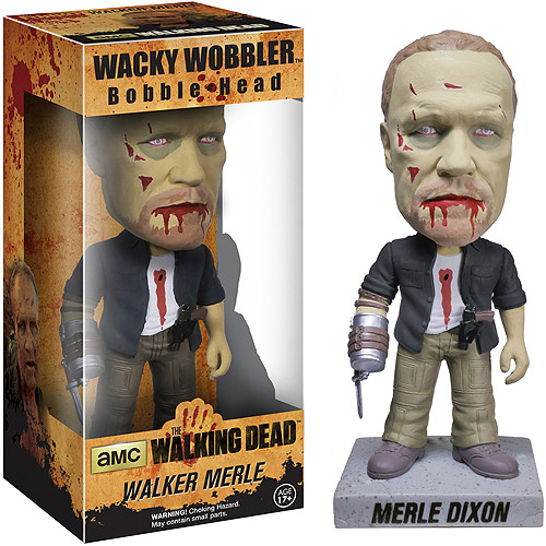 Funko AMC Film Holdings Walking Dead Zombie Merle Wacky Wobbler