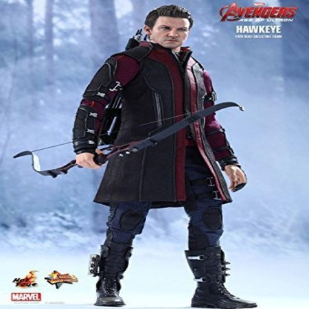 Hot Toys Hawkeye Mms289 Avengers AGE of Ultron Hawkeye 1/6th Scale Collectible