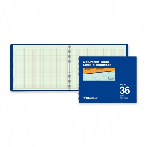 Blueline 747 Series Columnar Book