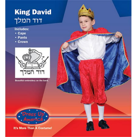 Dress Up America Deluxe King David Costume Set Large 12-14 234-L