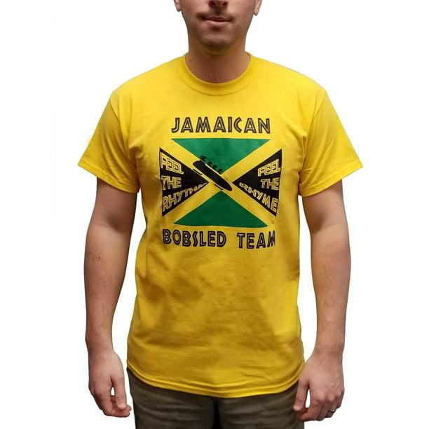 Mypartyshirt Jamaican Bobsled Team T Shirt Cool Runnings Olympics Bobsleigh Costume Movie Walmart Com Walmart Com