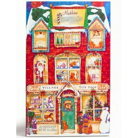 Madelaine Christmas Village Toy Shop Chocolate Advent Calendar Countdown to Christmas