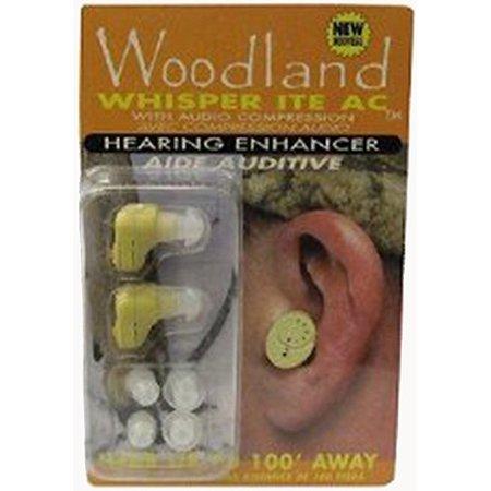 Woodland Whisper In The Ear Hearing Enhancer  2 Pkg