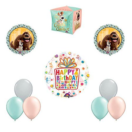 The Secret Life of Pets 10pc Birthday Party Balloon Decorations (Pet Party)