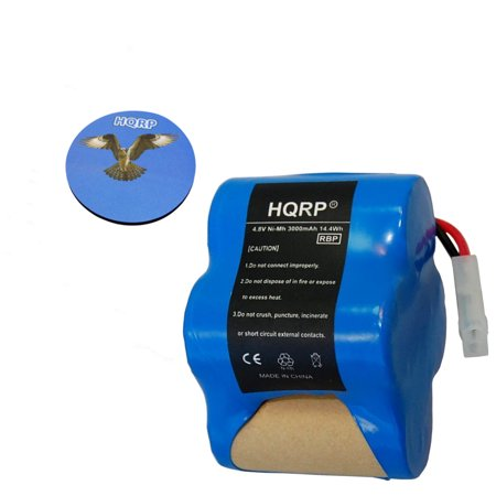 Hqrp Extra High Capacity Rechargeable Battery 4 8v 3 0ah