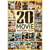 20-FILM WESTERN PACK (DVD/5DISCS) (DVD)