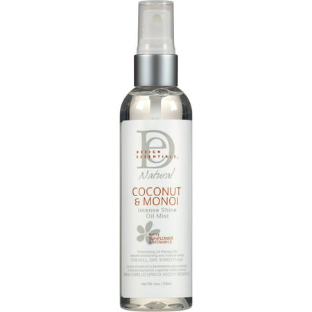 Essential Natural - Design Essentials Natural Coconut & Monoi Intense Shine Oil Mist, 4 fl oz