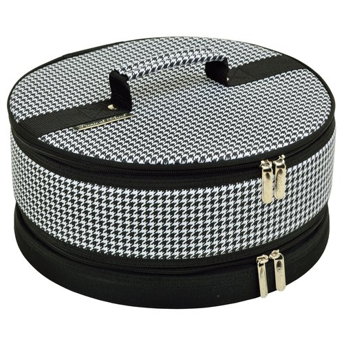 Picnic At Ascot Houndstooth Cake Carrier