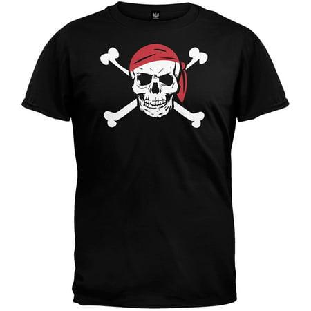 Mens Jolly Roger - Halloween Jolly Roger Pirate Costume T-Shirt