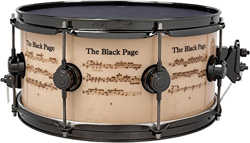"DW ""Collector's Series Icon Terry Bozzio """"The Black Page"""" Snare... by"