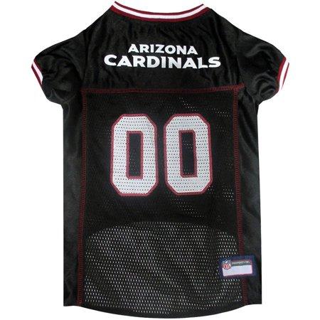 302837ebb5d1 Pets First NFL Arizona Cardinals Pet Jersey - Walmart.com