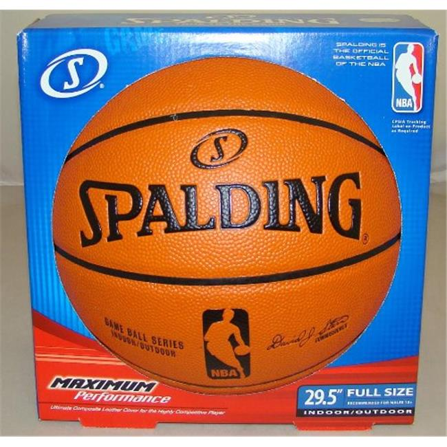 Creative Sports Enterprises  Inc SPALDING-NBA-Game-Ball-Replica Spalding NBA Replica Basketball