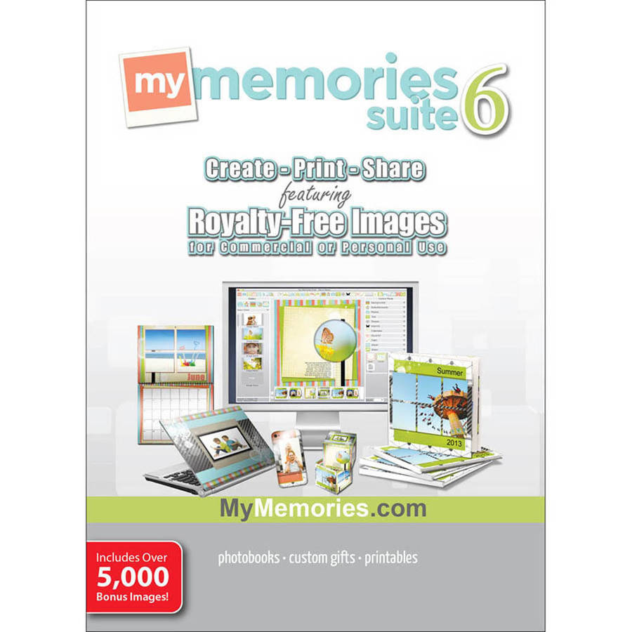 Encore Software 39994 MyMemories Suite v6 with Creative Collection (Digital Code)