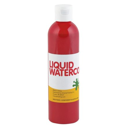 Ruby Red Tropical Color Liquid Watercolor Paint