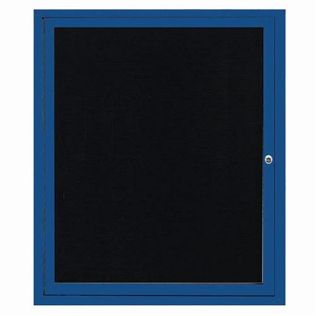 Aarco Products ADC3630B Enclosed Directory Board - Blue