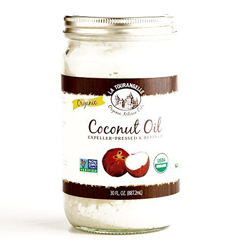 La Tourangelle Coconut Oil 24 oz (4 Items Per Order)