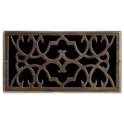 "Brass Elegans 120G 6"" X 10"" Victorian Series Solid Brass Air Return  Vent"