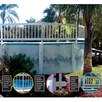 WaterWarden Above Ground pool safety fence (add on kit C 2 Sections)