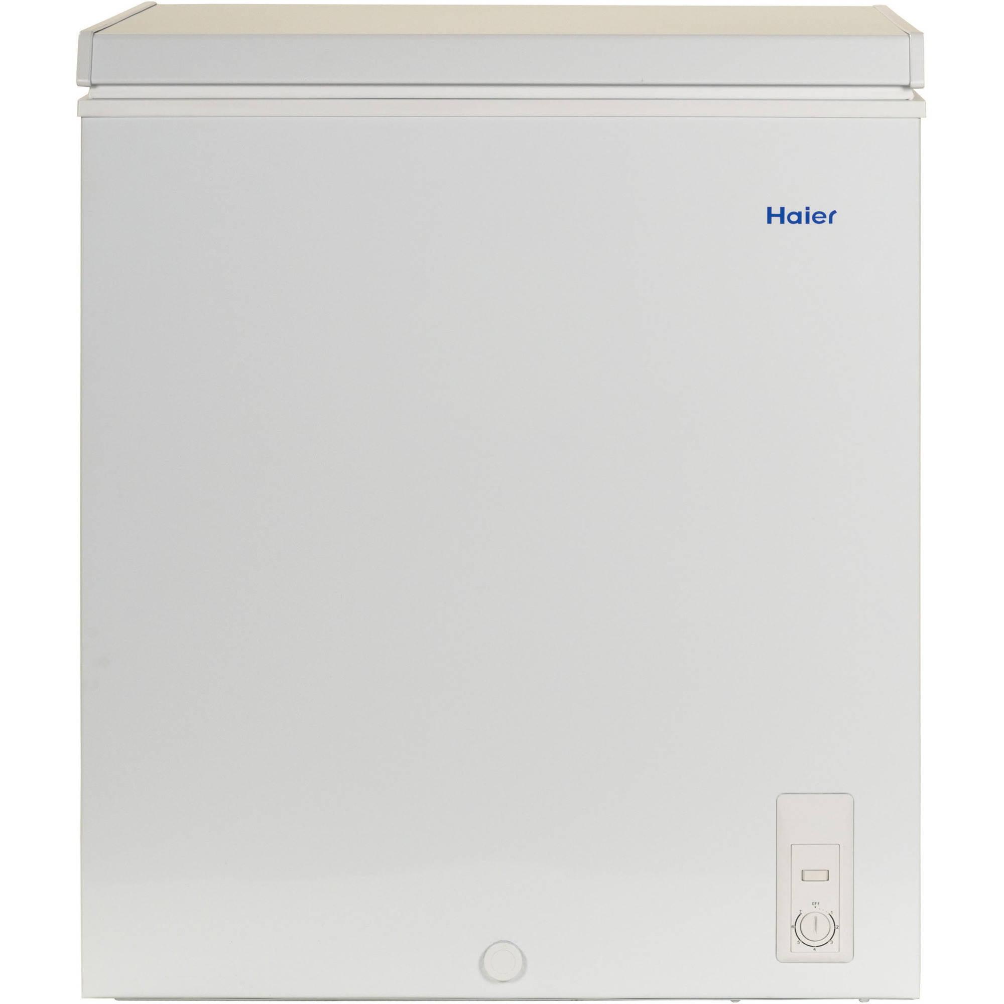 Haier 5.0 Cuft Compact Chest Freezer