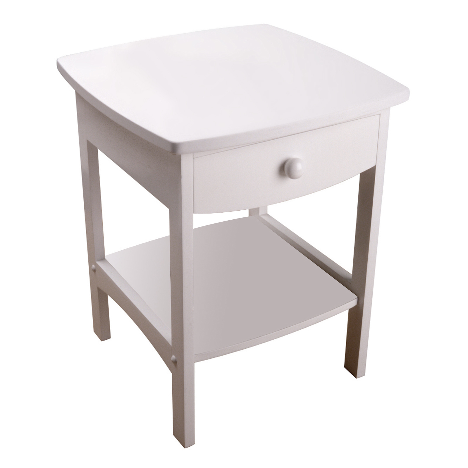 Merveilleux Winsome Wood Curved Nightstand / End Table   Walmart.com