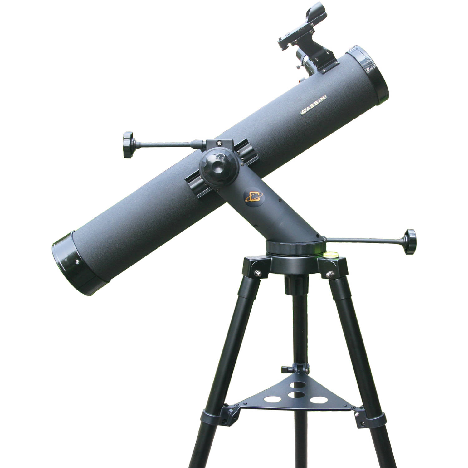Cassini 800mm x 80mm Tracker Series Astronomical Reflector Telescope with Tripod - Black, C-80080TR