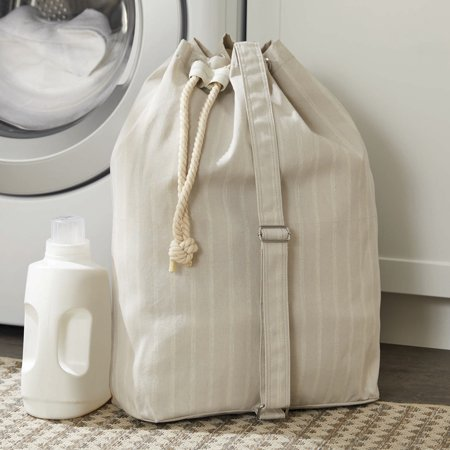 Laundry Bags At Walmart Amazing Better Homes Gardens Charleston Collection Grey Pumice Drawstring