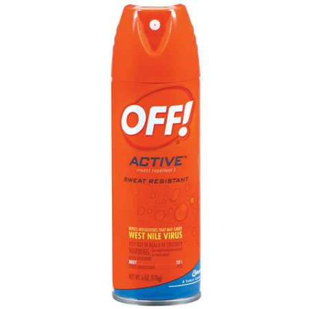 Off  Active Sweat Resistant Insect Repellent 1  6 Oz