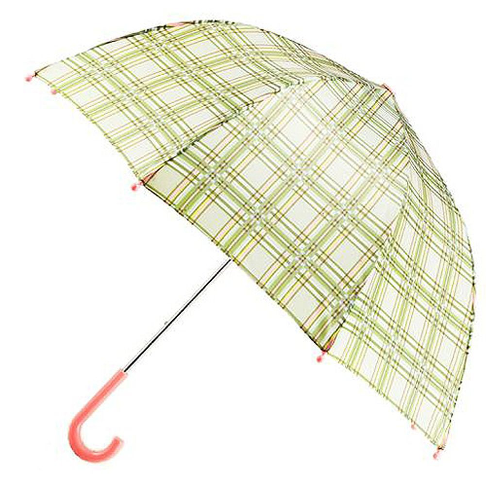 Pluie Pluie Raingear Green Plaid Kids Umbrella