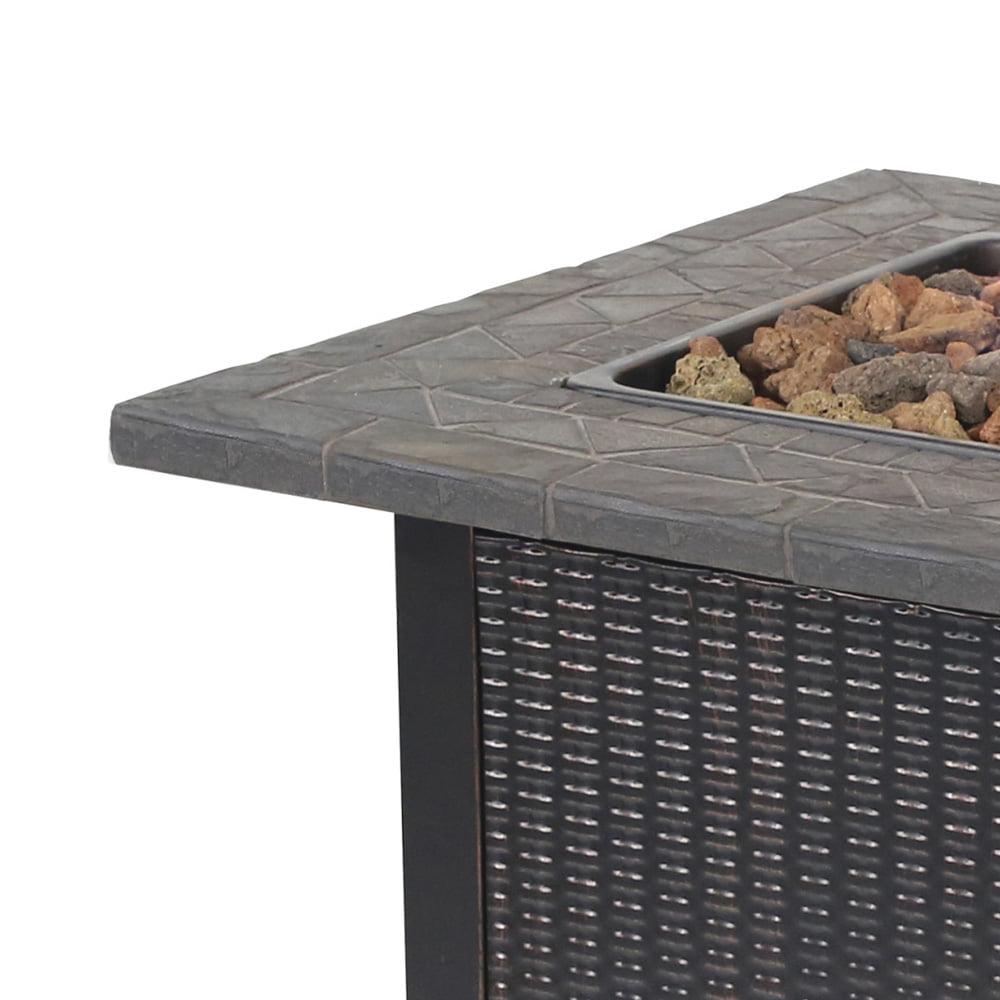 Blue Rhino LP Gas Outdoor Fireplace - Walmart.com