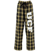 UCF Knights Women's Flannel Pajama Pants - Black