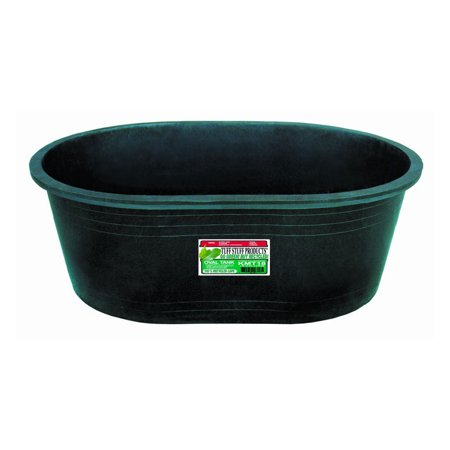 Tuff Stuff Heavy Duty 18 Gallon Oval Water, Feed, or Storage Tank Tub, Green