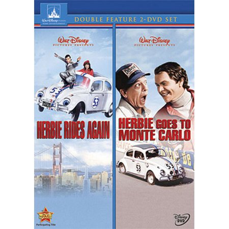 Herbie Rides Again / Herbie Goes to Monte Carlo (DVD)