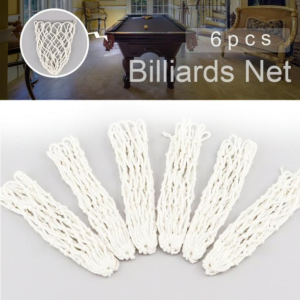 Details about  /6pcs Billiard Table Pockets PVC Pool Table Pockets Drop Bag Nets