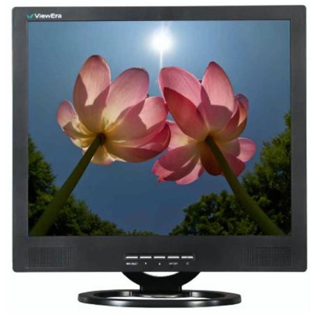 ViewEra V191BN-B 19 in. LCD Monitor With VGA, BNC Video And Speakers by Viewera