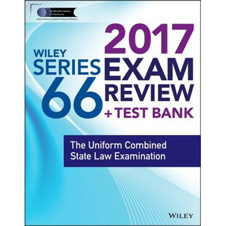 Wiley FINRA Series 66 Exam Review 2017 - eBook - Walmart com