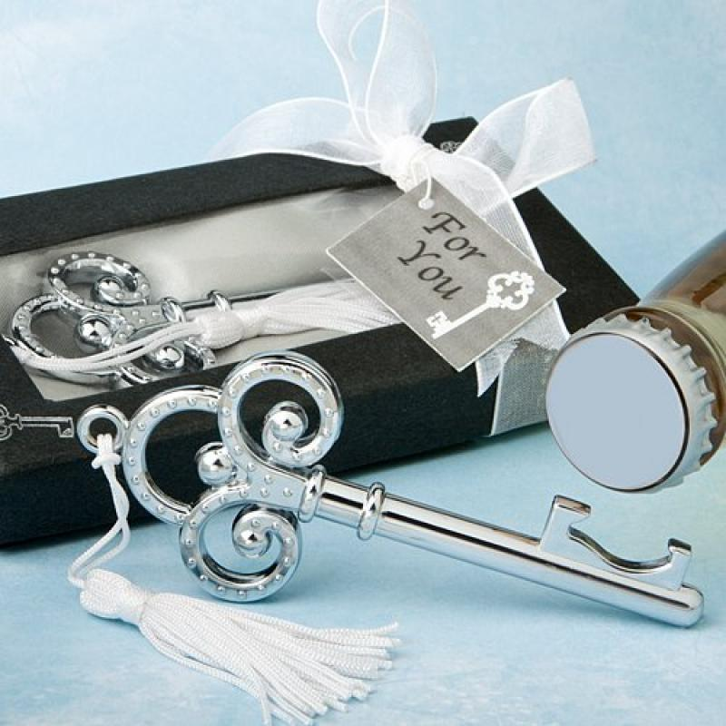 FashionCraft Key to My Heart Bottle Opener Wedding Favors...