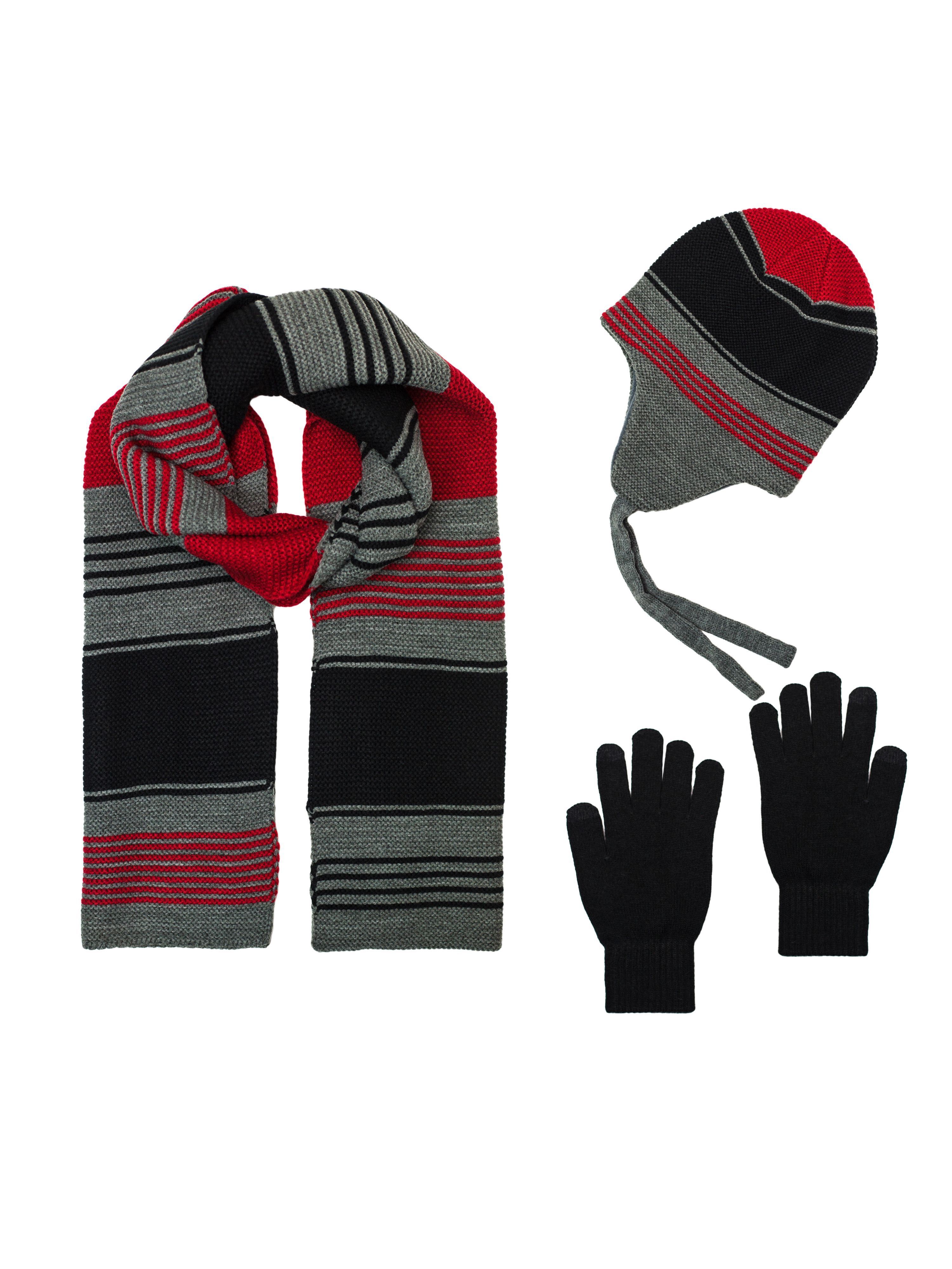 One Size Girls My Little Pony Rainbow Dash Knit Hat /& Glove Set 7-14