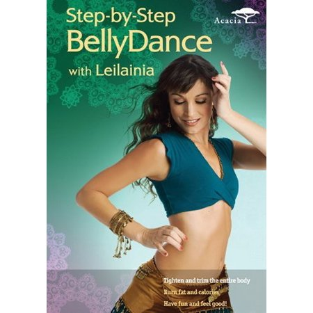Step-by-Step Bellydance with Leilainia (DVD)](Arab Bellydance)