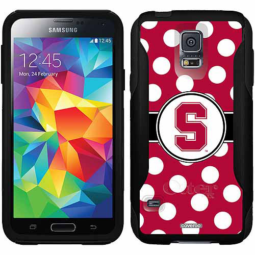 Stanford University Polka Dots Design on OtterBox Commuter Series Case for Samsung Galaxy S5