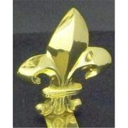 Mayer Mill Brass - FDH-M - Fleur De Lis Stocking Hook - Medium