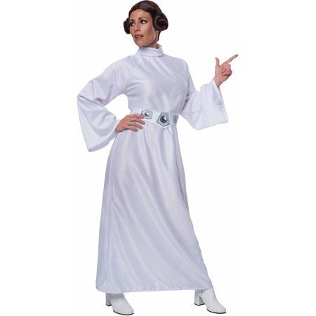 Star Wars Princess Leia Adult Costume, Standard Size - Lei Costume