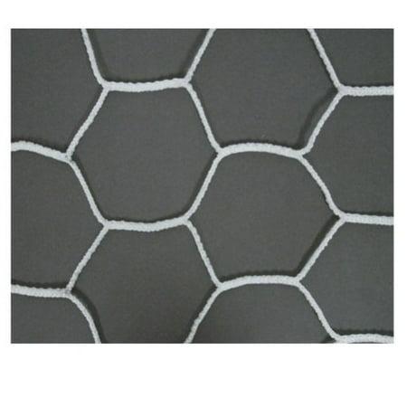 Image of Alumagoal Hexagonal Soccer Net - 8'H x 24'W x 3'D x 5'B
