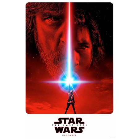 Star Wars The Last Jedi Movie Teaser Poster 24x36 inches (2017) Celebration..., By Movie Posters R' Us Ship from - Halloween 2017 Poster