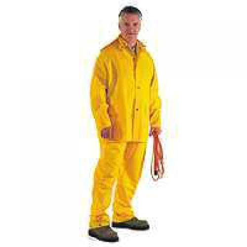 Pvc Poly Rainsuit, Large