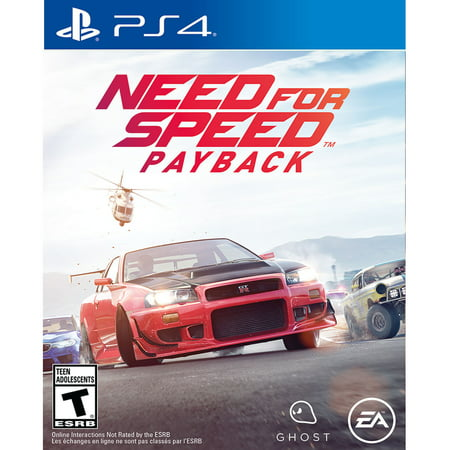 Need for Speed Payback, Electronic Arts, PlayStation 4, REFURBISHED/PREOWNED ()