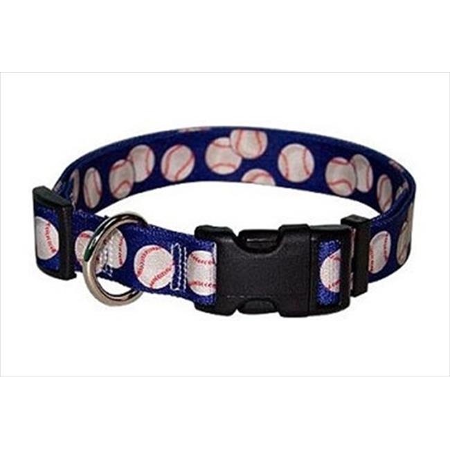 Yellow Dog Design BAS100C Baseballs Standard Collar - Cat