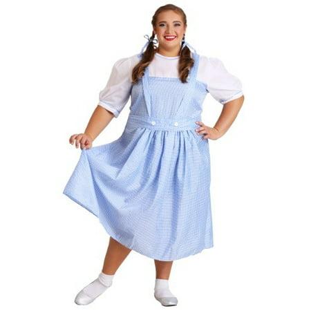 Kansas Girl Plus Size Costume - Kansas City Costume Shops