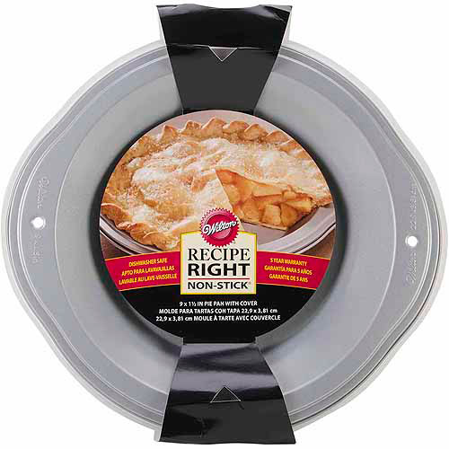 Wilton Recipe Right Covered Pie Pan, 9""